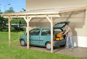 Anlehn-Carport