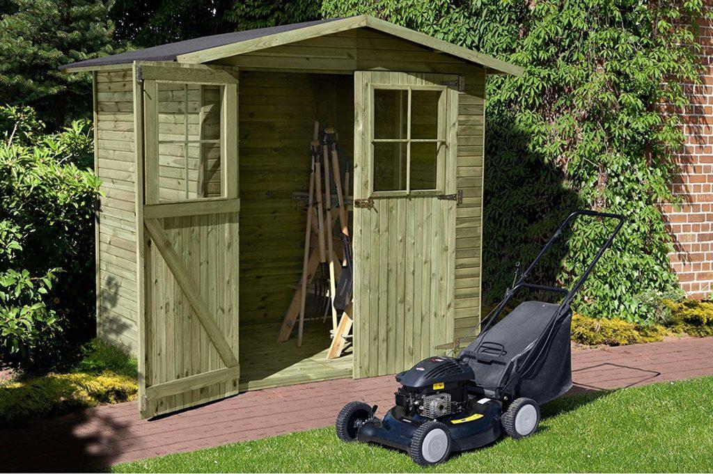 Holz Gerätehaus Bausatz