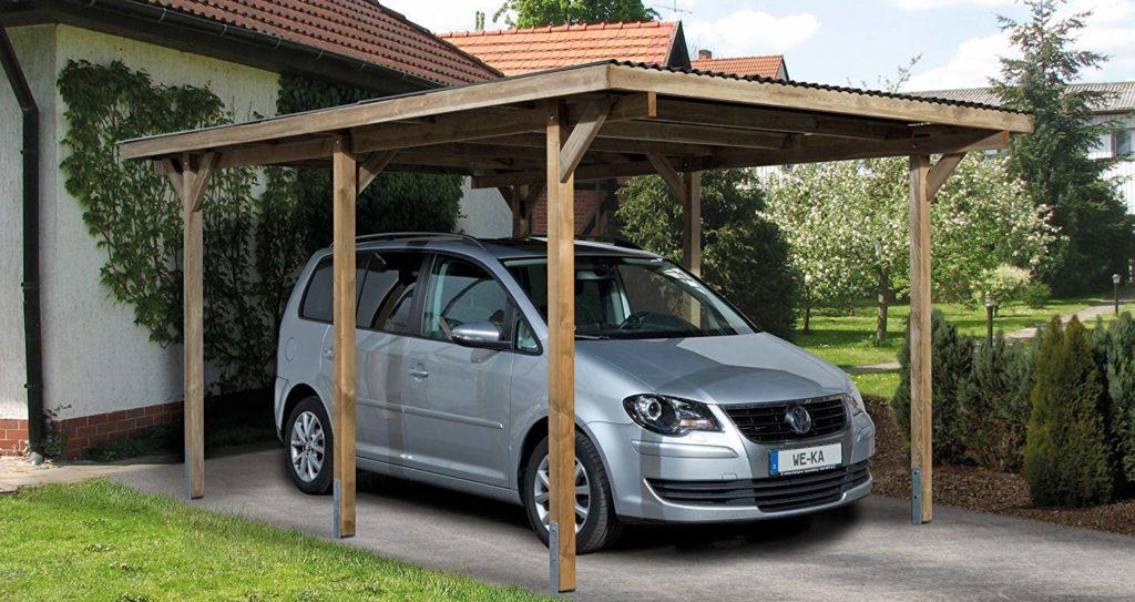 Carport Holz Bausatz