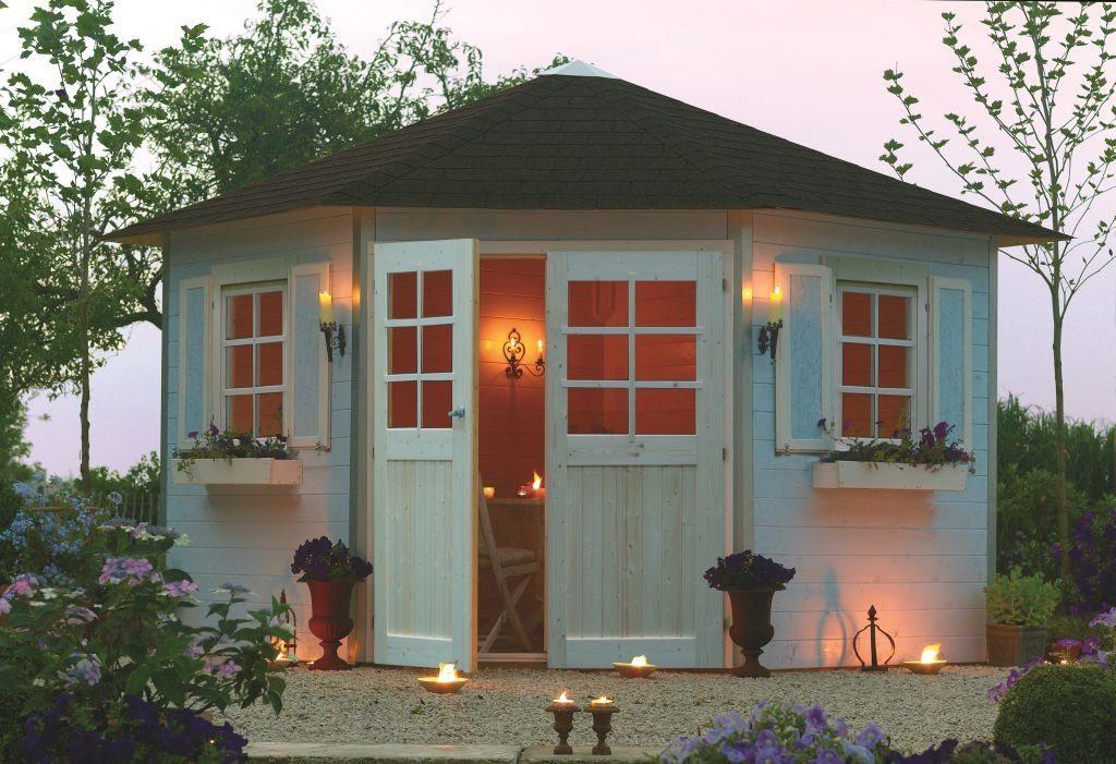 Holz Gartenhaus Bausatz