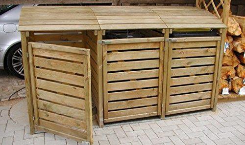 Mülltonnenbox kaufen, günstige Bausätze für Carport, Garage ...
