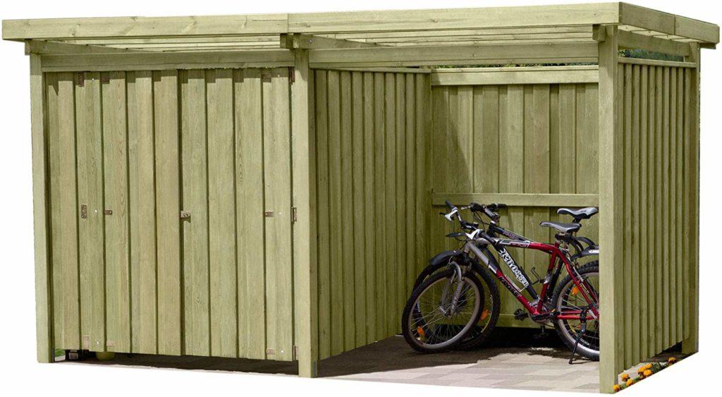 Fahrradschuppen Holz Bausatz