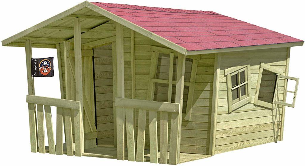 Spielhaus Holz Bausatz