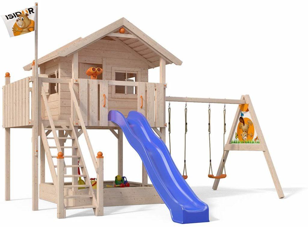 Spielturm mit Sandkasten